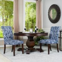AVE SIX Gabrielle Sky Fabric Dakota Parsons Chair-DAK-G31 ...