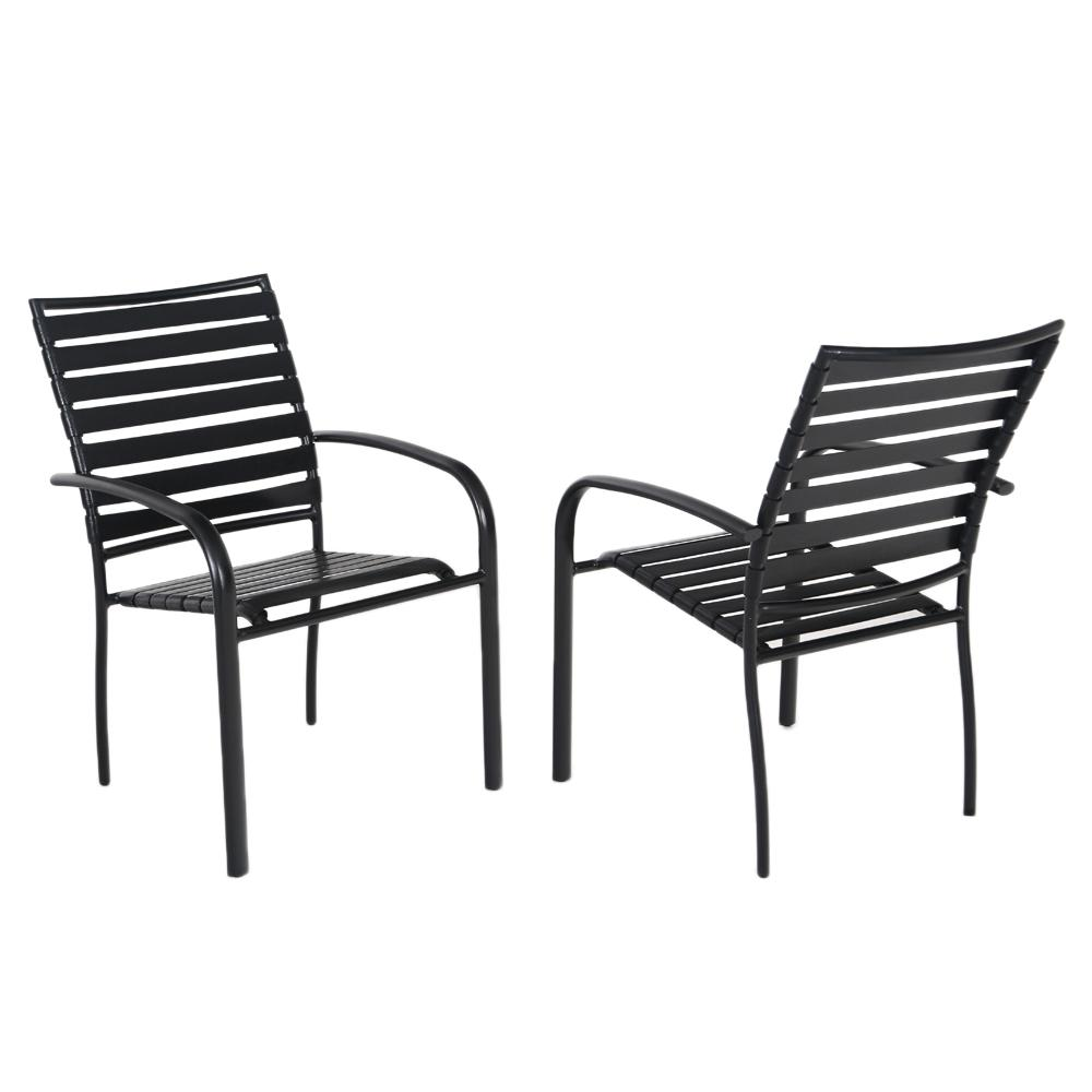 Hampton Bay Commercial Aluminum Outdoor Dining Chair in