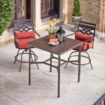 Hampton Bay Middletown 3-piece Motion High Patio Dining