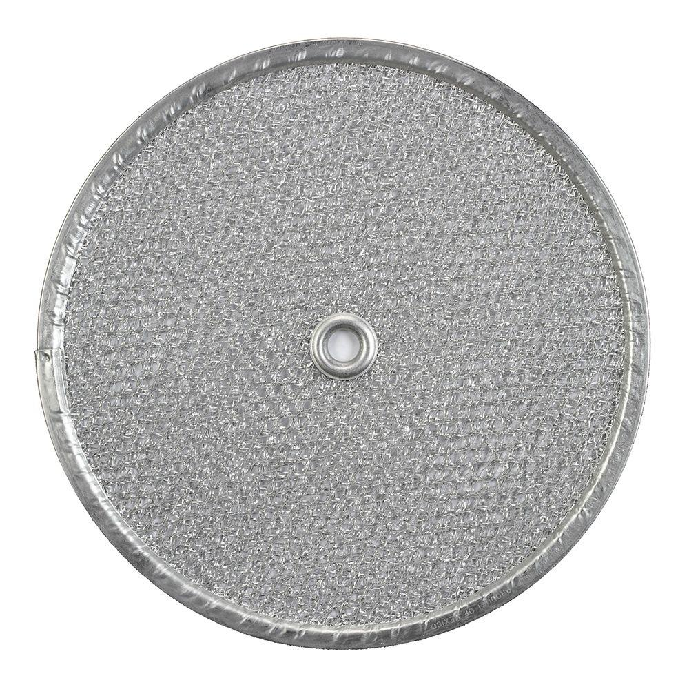 kitchen fan cover espresso pantry broan 9 5 in round aluminum replacement filter for 505 509 509s exhaust fans