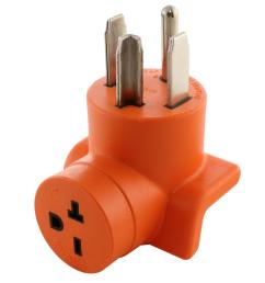 ac works dryer outlet adapter 4 prong dryer 14 30p plug to 15 [ 1000 x 1000 Pixel ]