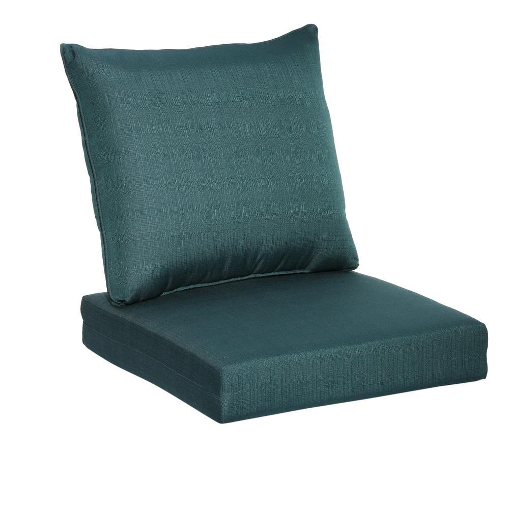 Sky 2Piece Deep Seating Outdoor Lounge Chair Cushion7292