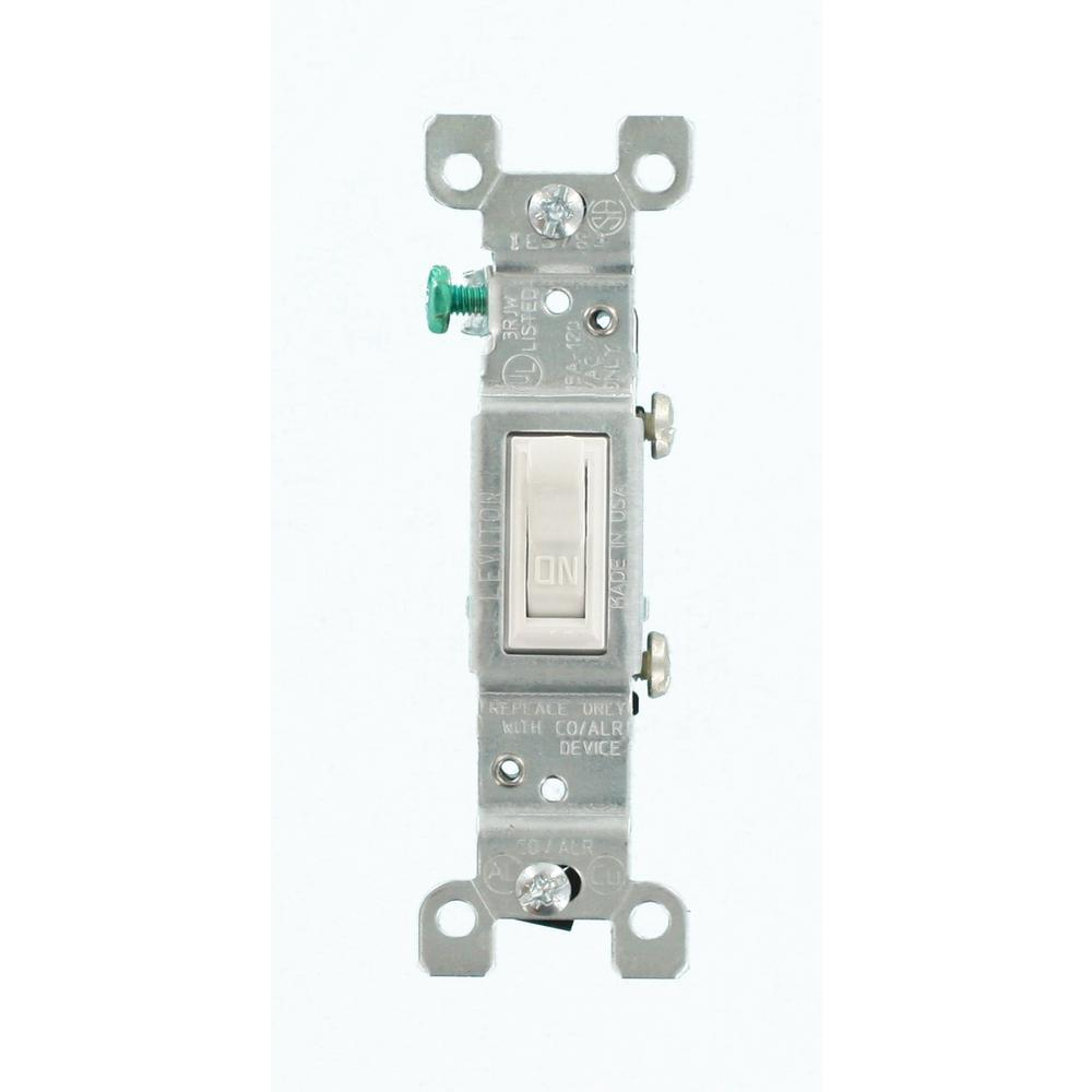 medium resolution of leviton 15 amp co alr ac quiet toggle switch white r52 02651 02w leviton white toggle wall light switch co alr aluminum wiring 3way