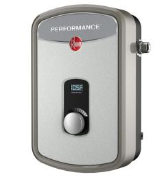 rheem performance 13 kw self modulating 2 14 gpm electric tankless water heater retex 13 the home depot [ 1000 x 1000 Pixel ]