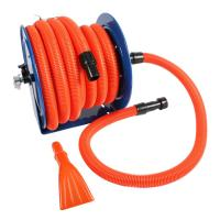 Cen-Tec Industrial Hose Reel and 50 ft. Hose with Adapters ...