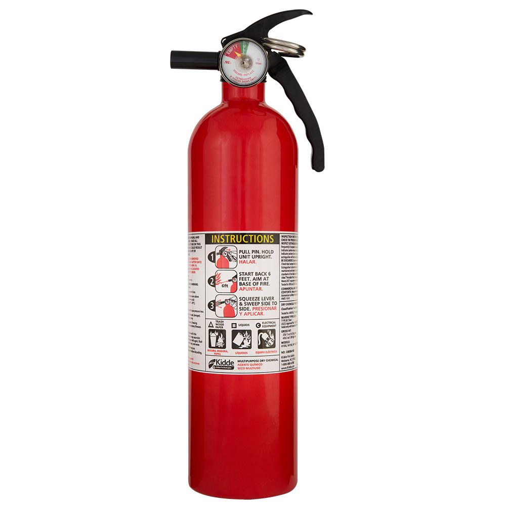 kidde kitchen fire extinguisher whitewash table 1 a 10 b c recreational 21027405mtl the
