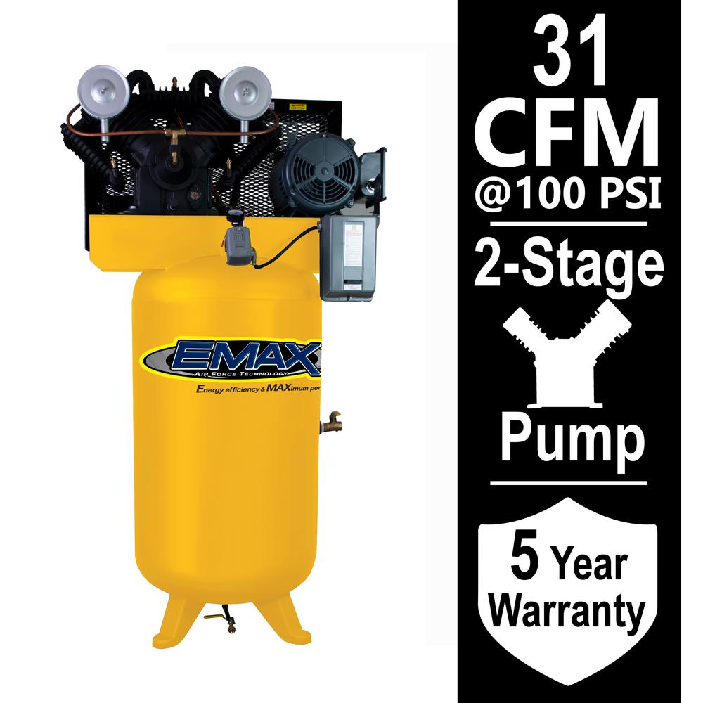 medium resolution of 7 5 hp 1 phase electric air compressor