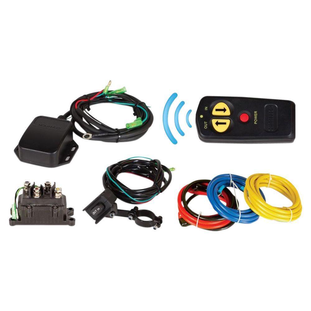 medium resolution of wireless remote winch kit for 2 000 lb 4 700 lb champion winches