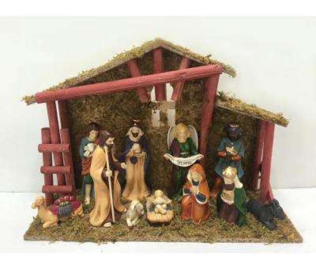 In Deluxe Nativity Scene Set  Piece