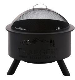 traeger 27 5 in steel outdoor fire pit [ 1000 x 1000 Pixel ]
