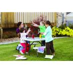 Lifetime 35 1 2 In X 32 1 2 In Kids Picnic Table With