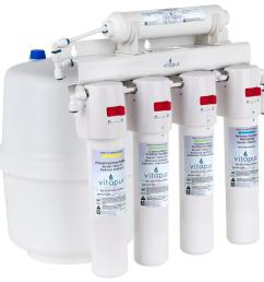 vitapur five stage 23 3 gpd quick connect reverse osmosis treatment system [ 1000 x 1000 Pixel ]