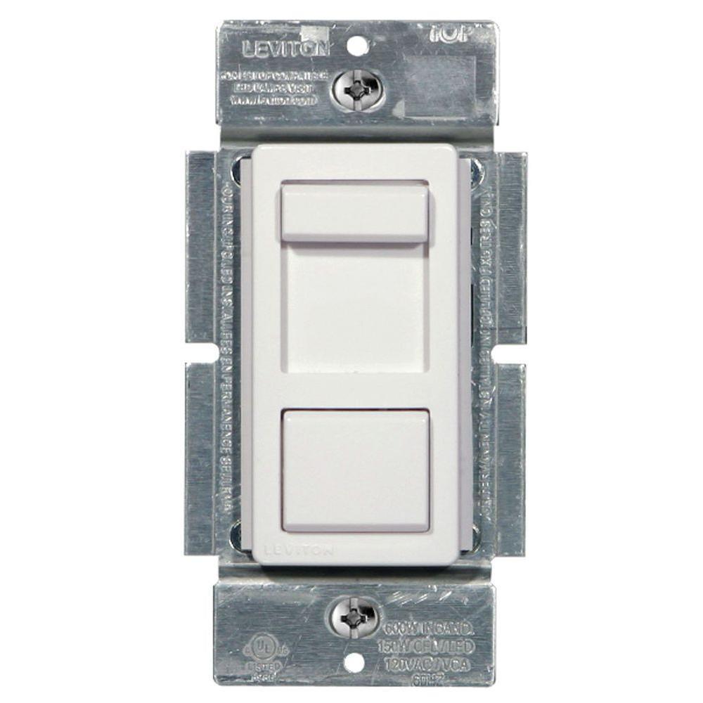 hight resolution of  white leviton dimmers r50 ipl06 10m 64 1000 leviton illumatech 150 watt single pole and 3 way