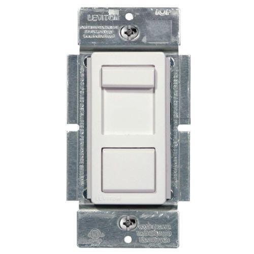 small resolution of  white leviton dimmers r50 ipl06 10m 64 1000 leviton illumatech 150 watt single pole and 3 way