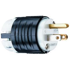 legrand pass seymour 15 amp 125 volt industrial grade straight plug ps5266xccv4 [ 1000 x 1000 Pixel ]
