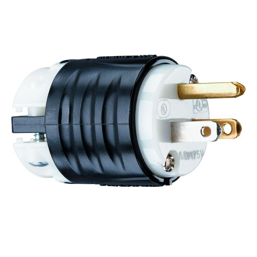medium resolution of legrand pass seymour 15 amp 125 volt industrial grade straight plug ps5266xccv4