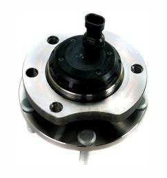front left wheel bearing and hub assembly fits 2004 2006 pontiac gto [ 1000 x 1000 Pixel ]
