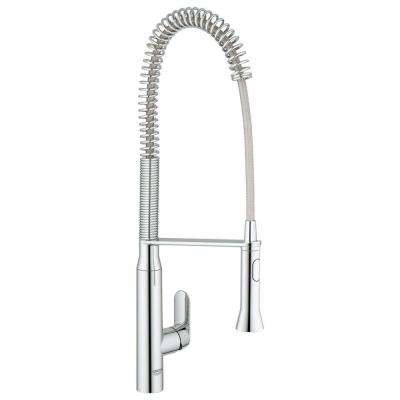 grohe concetto kitchen faucet washable rugs non skid faucets the home depot k7 semi pro single handle pull out sprayer in starlight chrome