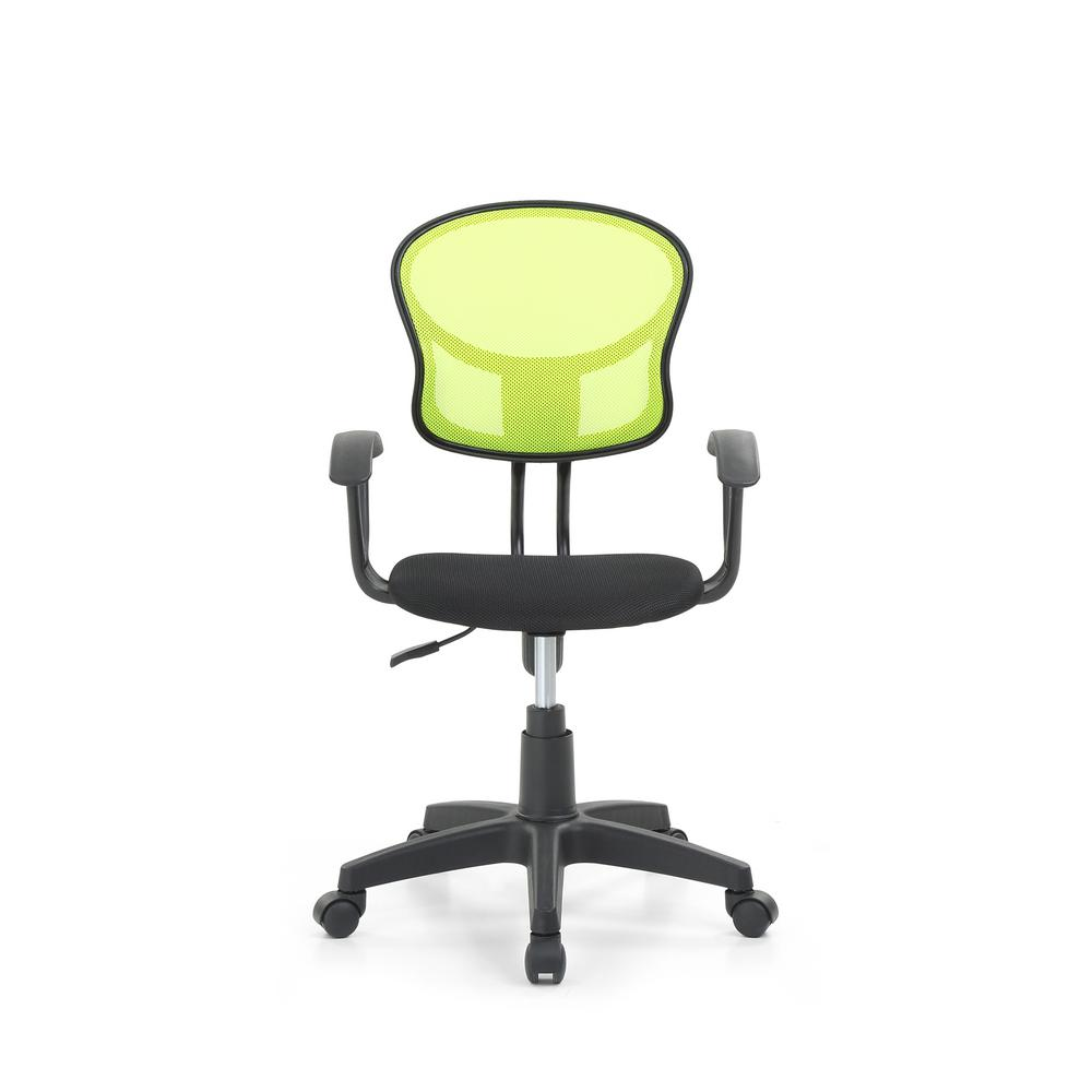 adjustable height chairs used desk hodedah green mesh mid back swiveling task chair with padded seat