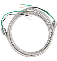 stranded cu mc metal clad armorlite modular assembly quick cable whip [ 1000 x 1000 Pixel ]