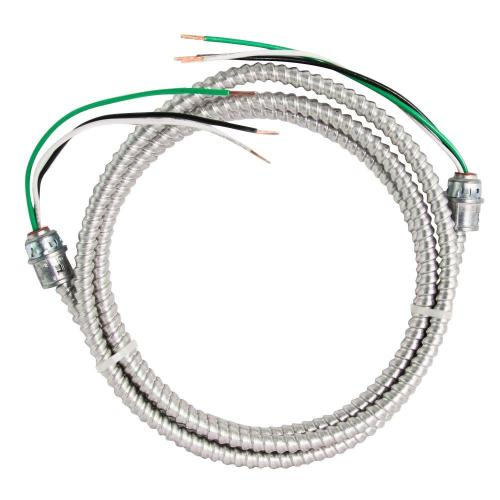 small resolution of stranded cu mc metal clad armorlite modular assembly quick cable whip