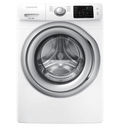 samsung 4 5 cu ft high efficiency front load washer in white energy star [ 1000 x 1000 Pixel ]
