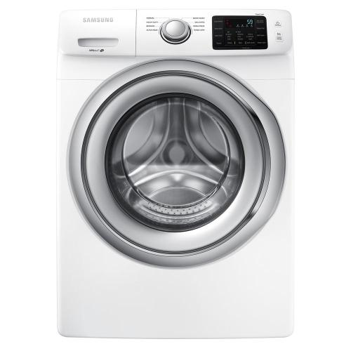 small resolution of samsung 4 5 cu ft high efficiency front load washer in white energy star