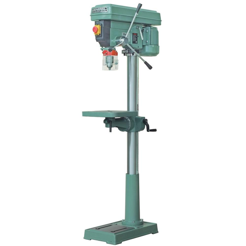 General International 17 in Floor Drill Press with