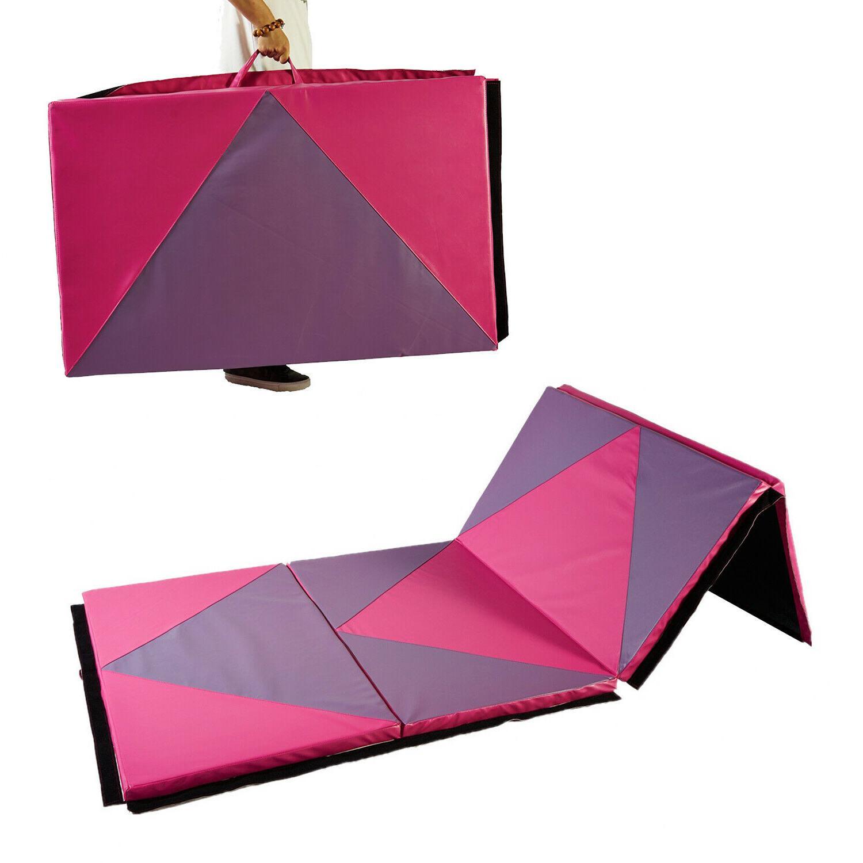 4 X10 X2 Gymnastics Mat Thick Four Folding Panel Gym