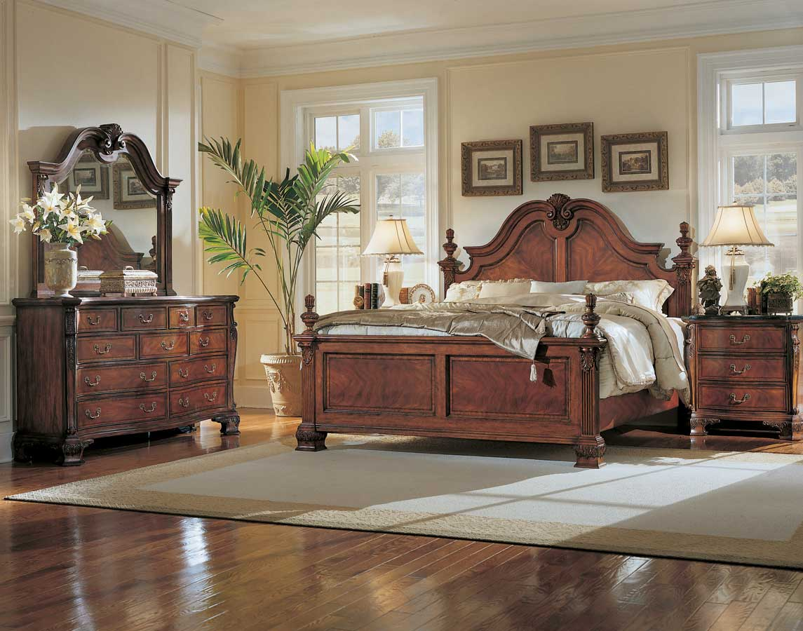 American Drew Wentworth Manor Mansion Bedroom Collection B481313R at Homelementcom
