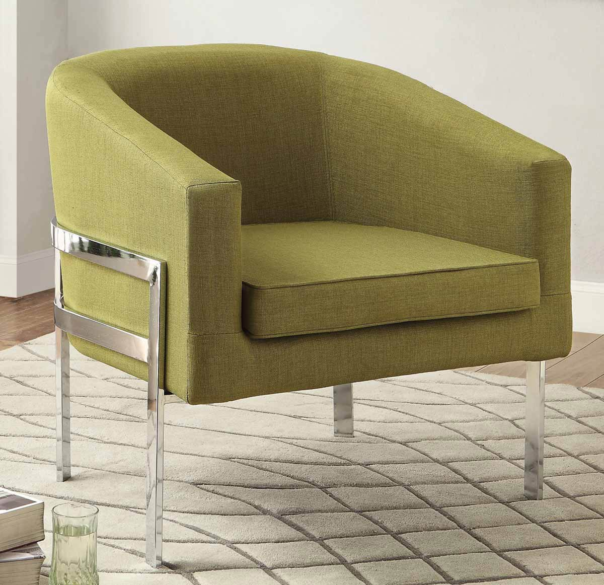 Coaster Accent Chair Coaster 902531 Accent Chair Green