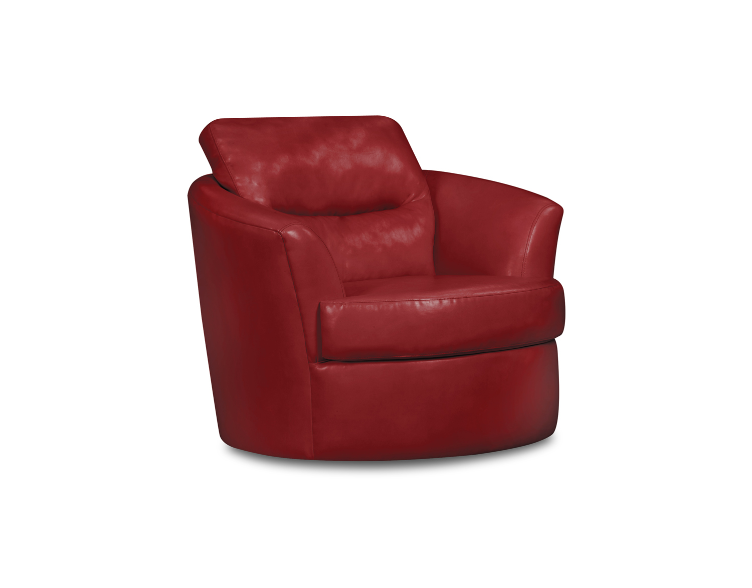 Red Leather Swivel Chair Global Furniture Usa 9500 Swivel Chair Bonded Leather Cardinal