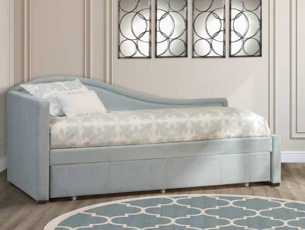 Hillsdale Olivia Daybed With Trundle - Spa Aqua Blue Hd