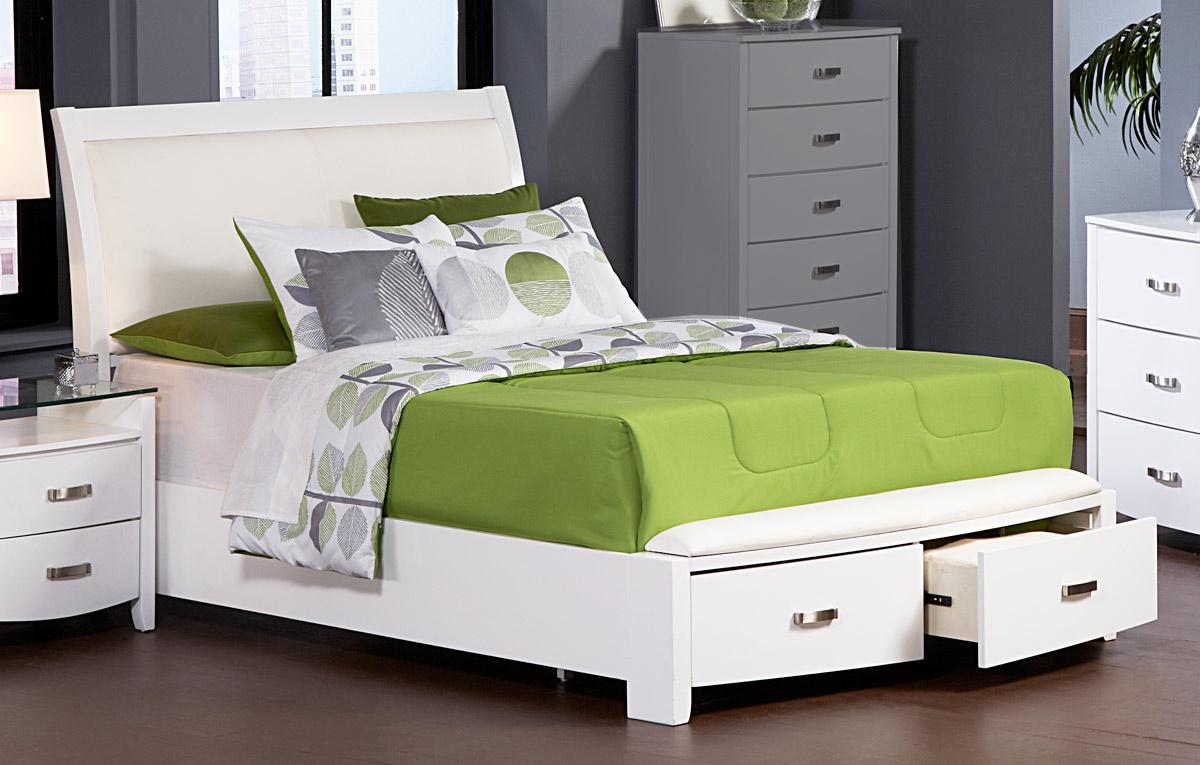 Homelegance Lyric Platform Bed With Storage 1737w 1 At Homelement Com