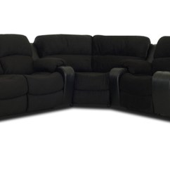 Klaussner Grand Power Reclining Sofa Sectional Furniture Protector Set Vanti Black Kl O92773 Sec