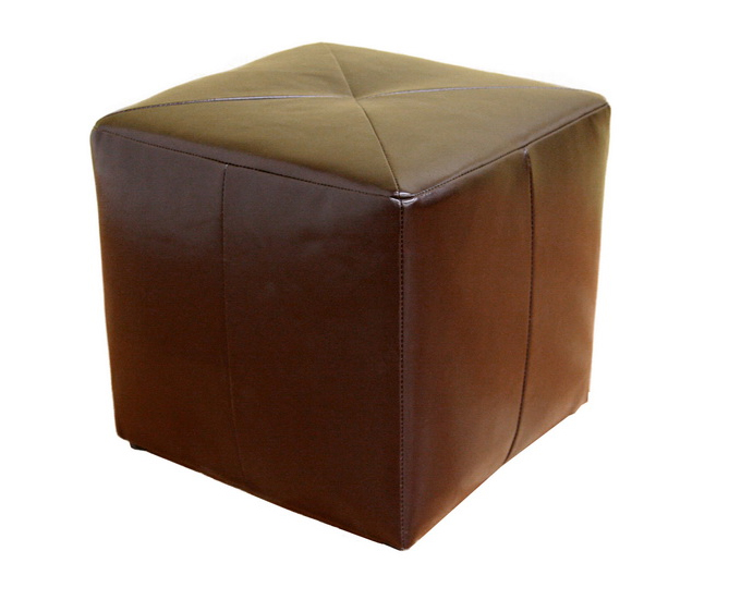 wholesale interiors st 20 bonded leather square ottoman