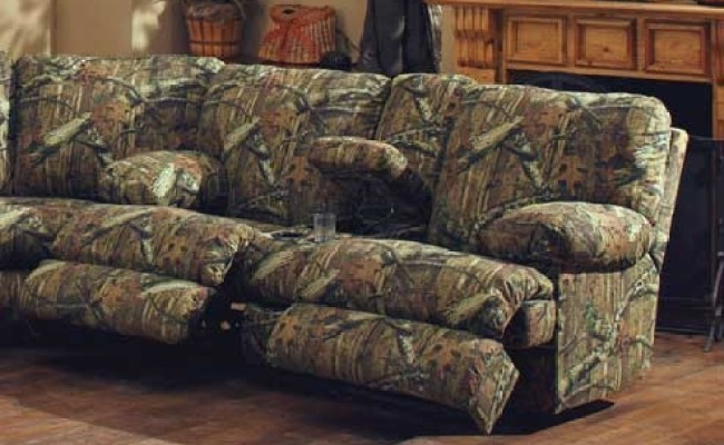 Catnapper Wintergreen Reclining Sectional Sofa Set Mossy