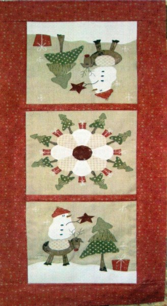Christmas Tree Table Runner Pattern Free : christmas, table, runner, pattern, Around, Christmas, Table, Runner, Pattern, Berry, Creations