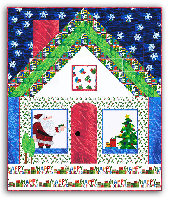 The Very GOOD And Hungry Caterpillar Christmas Quilt