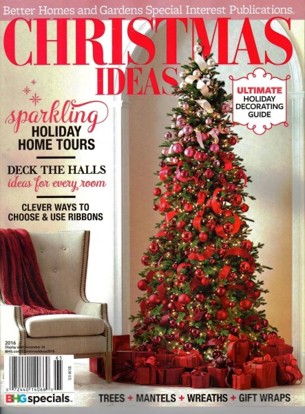 Christmas Ideas 2016 Better Homes & Gardens Special Interest
