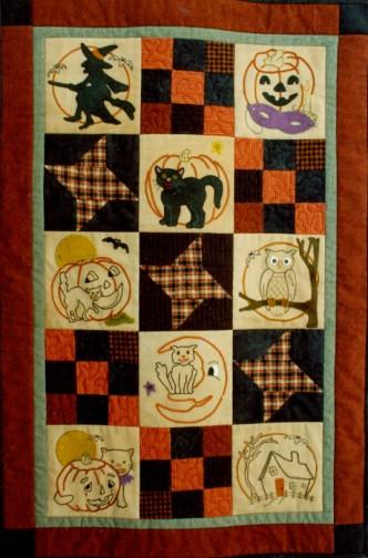 Ol Halloween Stitch Quilt Pattern Set by Buttermilk Basin  Staci West