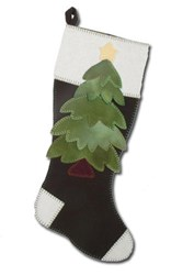 Christmas Tree Stocking Wool Kit