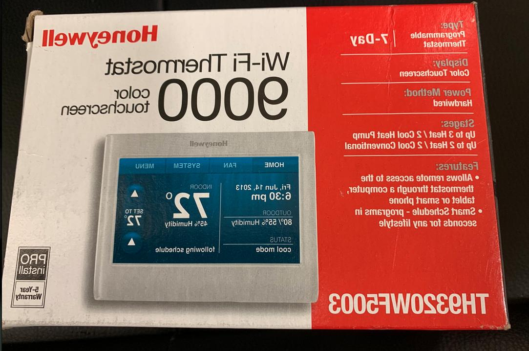 NEW HONEYWELL 9000 TH9320WF5003 Wi-Fi Color Touch Screen