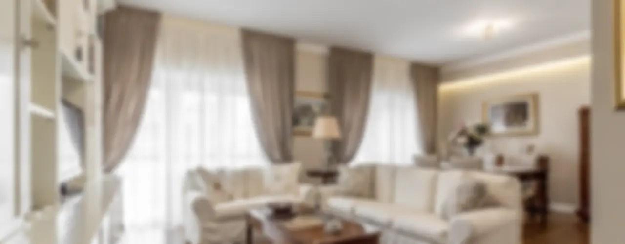 Miulee tende trasparenti per salotto eleganti soggiorno con occhielli morbidi finestre ricamo foglia per camera da letto e tende cameretta bambini 2 pannelli. Come Scegliere Le Tende Del Soggiorno 20 Idee E Esempi Homify