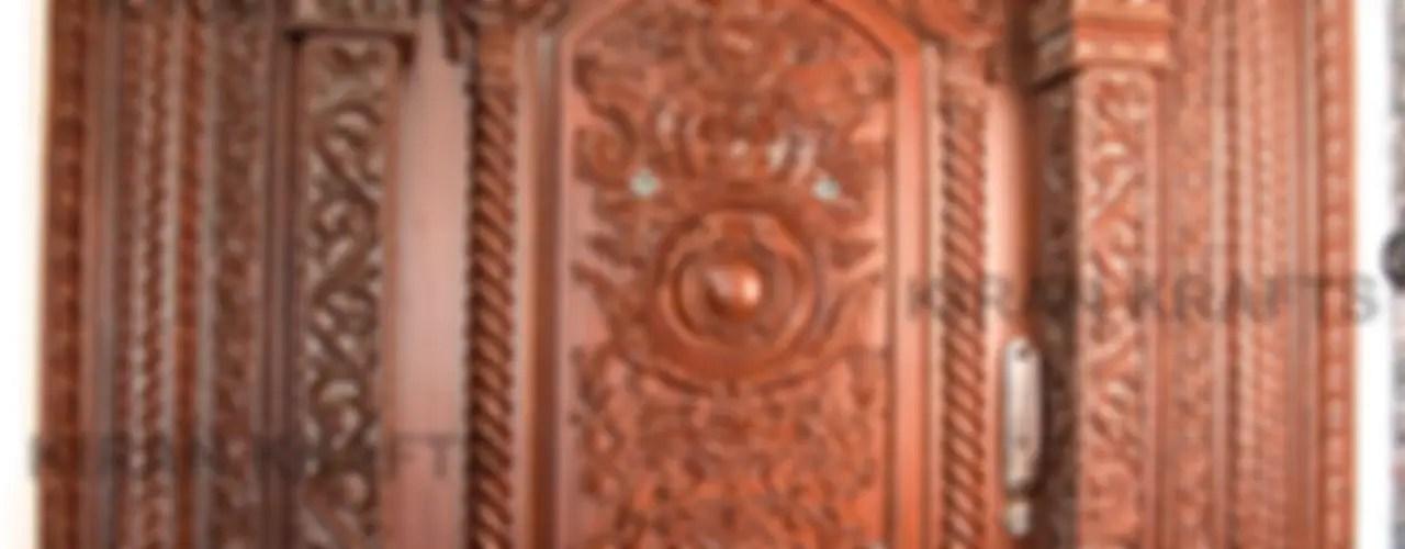 10 beautiful door designs for traditional Indian welcome