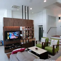 tropical living room in malaysia eclectic furniture design ideas inspiration pictures homify contemporary 3 storey semi d by indfinity