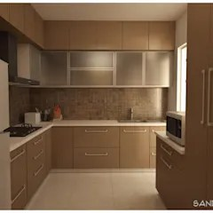 design kitchen reface old cabinets minimalist style ideas inspiration pictures homify by sandarbh studio