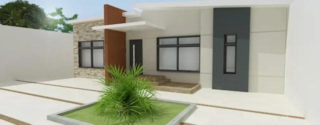 15 casas de un piso pequeñas y sencillas que te van a inspirar