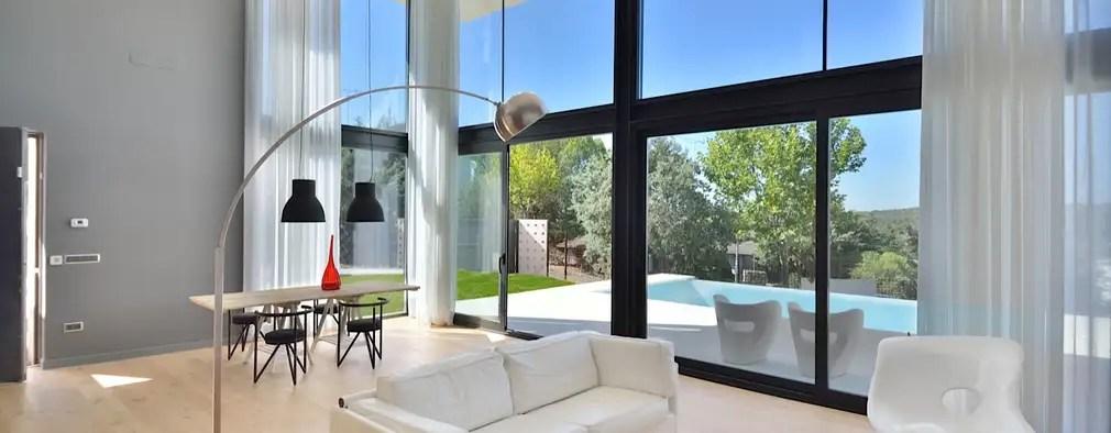 La Construcción De Una Casa Unifamiliar Y Modular En Madrid