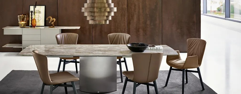 The Adler Extendable Table From Iq Furniture